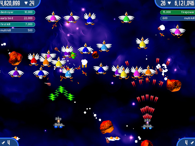 Chicken Invaders 2 Screenshot http://games.bigfishgames.com/en_chickeninvaders2/screen2.jpg