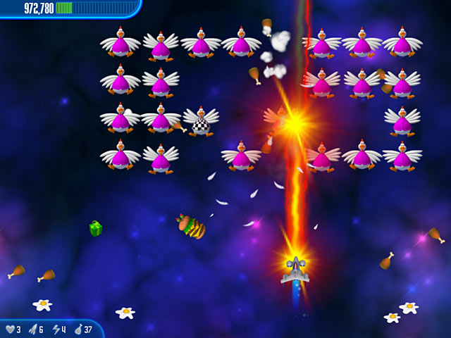 Chicken Invaders 3 Screenshot http://games.bigfishgames.com/en_chickeninvaders3/screen2.jpg