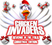 Chicken Invaders 3 Christmas Edition Game Featured Image
