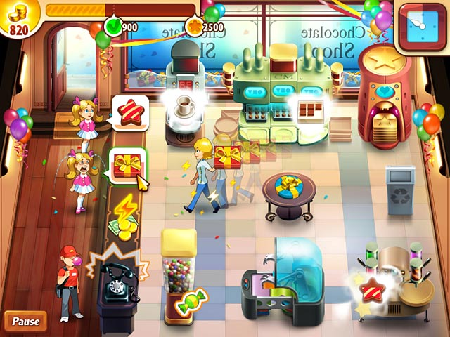 Chocolate Shop Frenzy Screen Shot