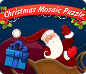 Christmas Mosaic Puzzle Game Featured Image