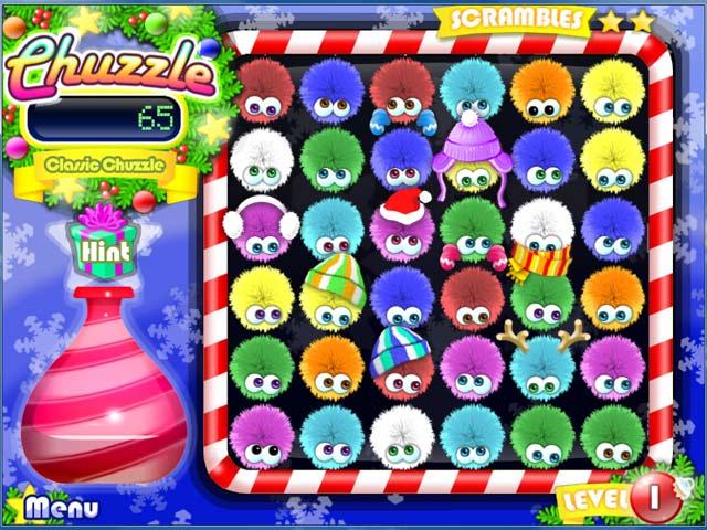 Bezpłatne pobieranie Chuzzle: Christmas Edition