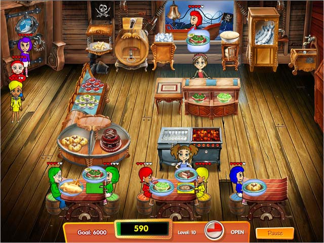 Cooking dash 3 thrills and spills torrent downloads for Big fish cooking games