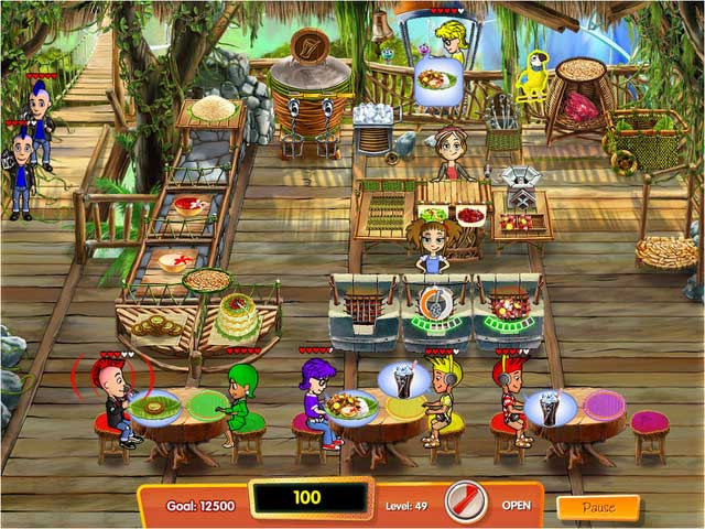 Download bigfish cooking dash 3 thrills and spills for Big fish cooking games