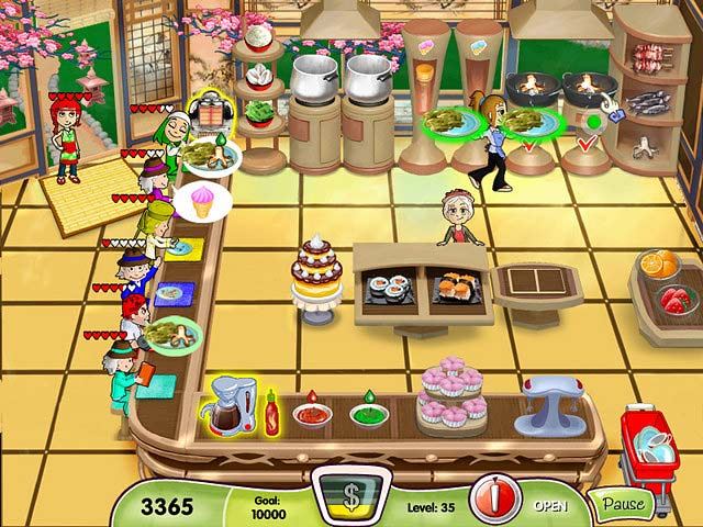 Cooking dash free game download for Big fish cooking games