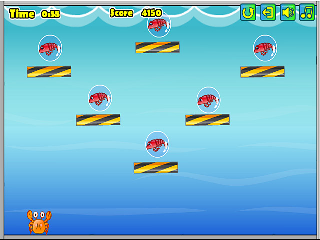Bigfish crab shooter for Crab fishing game