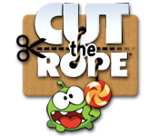 Cut the ropes to release candy and feed Om Nom!