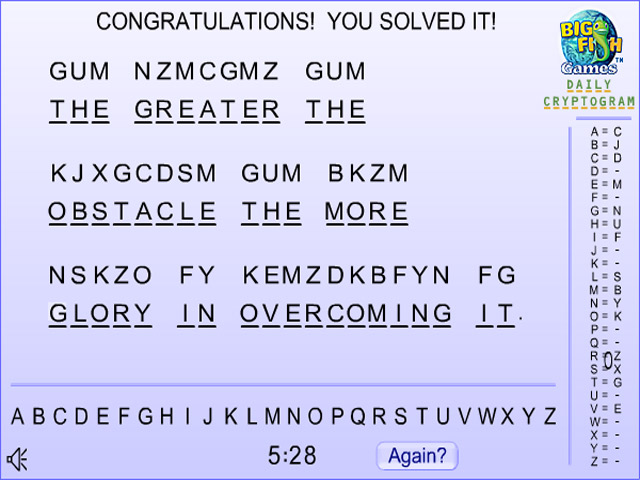 Play cryptograms free online full