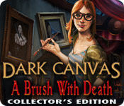 Dark Canvas: A Brush With Death Collector's Edition for Mac Game