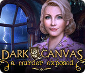 Dark Canvas: A Murder Exposed Game Featured Image