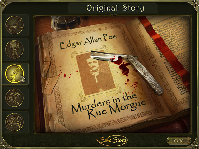 Dark Tales: Edgar Allan Poe's Murders in the Rue Morgue Collector's Edition Screenshot http://games.bigfishgames.com/en_dark-tales-edgar-allan-poe-rue-morgue-ce/screen2.jpg