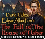 Dark Tales: Edgar Allan Poe's The Fall of the House of Usher Collector's Edition for Mac Game