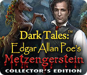Dark Tales: Edgar Allan Poe's Metzengerstein Collector's Edition for Mac Game
