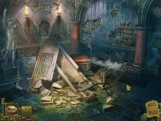 Dark Tales: Edgar Allan Poe's The Premature Burial - Screenshot