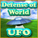 Free online games - game: Defense of World UFO