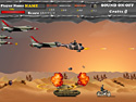 in-game screenshot : Desert War (og) - An adventurous shooting game.