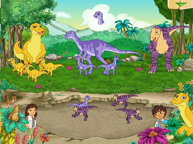 Click To Download Diego Dinosaur Rescue