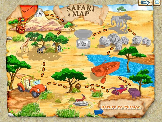 Gra Diego`s Safari Adventure Gra Bezpłatne