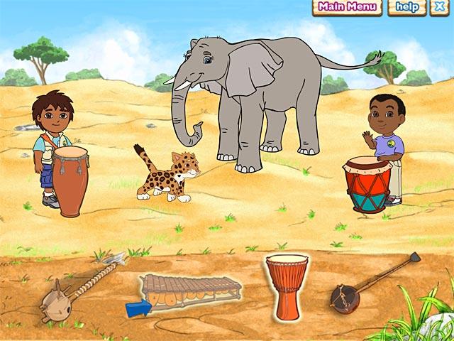 Bezpłatne pobieranie Diego`s Safari Adventure