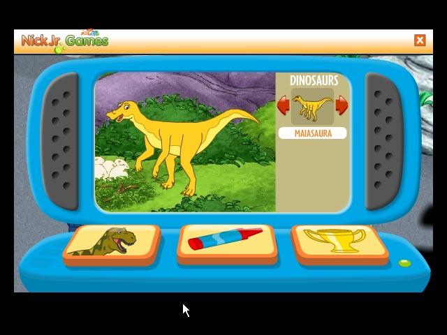 Diego`s Dinosaur Adventure Screen Shot 2