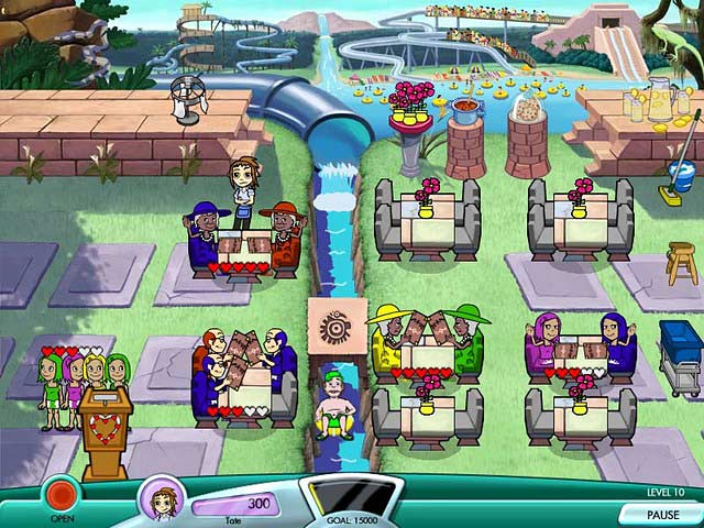 Diner Dash: Seasonal Snack Pack Screen Shot