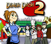 Diner Dash 2 Restaurant Rescue feature