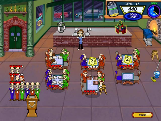 Diner Dash 2 Restaurant Rescue Screenshot http://games.bigfishgames.com/en_dinerdash2restaura/screen1.jpg