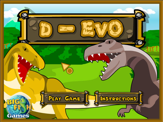 Dino evolution flash online games at xakz net