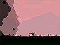 in-game screenshot : Dino Run (og) - Outrun the protoplasmic wall of doom!