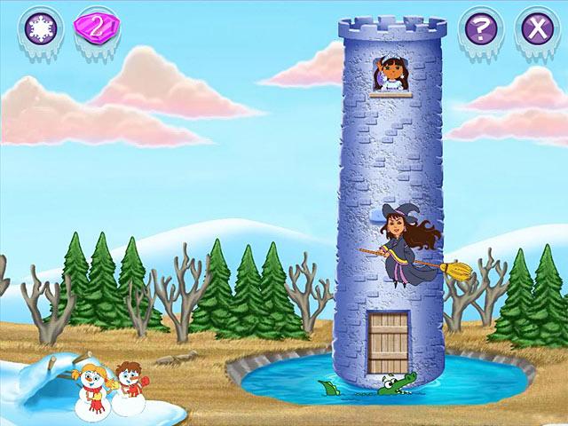Gra Dora Saves the Snow Princess Gra Bezpłatne