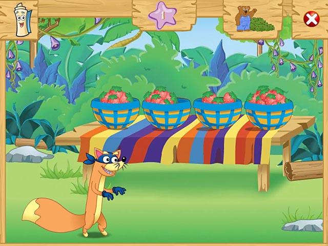 Gra Dora the Explorer: Swiper's Big Adventure! Gra Bezpłatne
