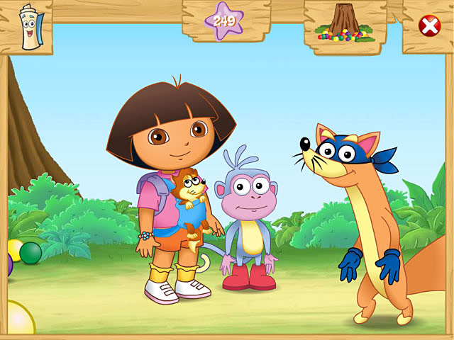 Dora the explorer games for kids