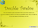 Buy PC games online, download : Double Twelve