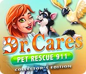 Buy PC games online, download : Dr. Cares Pet Rescue 911 Collector's Edition