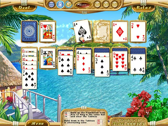 Click To Download Dream Vacation Solitaire