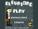 in-game screenshot : Elevatorz (og) - Help Mr. Jitters avoid the elevators.