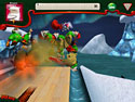 in-game screenshot : Elf Bowling 7 1/7: The Last Insult (pc) - Roll your way to holiday bowling fun!