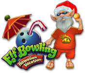 Elf Bowling: Hawaiian Vacation Feature Game