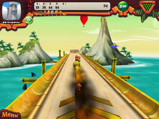 Click To Download Elf Bowling: Hawaiian Vacation