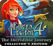 Elven Legend 4: The Incredible Journey Collector's Edition for Mac Game