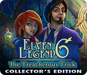 Elven Legend 6: The Treacherous Trick Collector's Edition for Mac Game