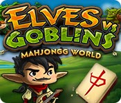 Elves vs. Goblin Mahjongg World Game Featured Image