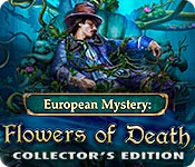 European Mystery: Flowers of Death Collector's Edition for Mac Game
