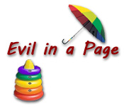 game - Evil in a Page