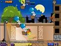in-game screenshot : Evil Rabbit Attack (og) - Stop the Evil Rabbit Attack!