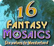 Fantasy Mosaics 16: Six colors in Wonderland for Mac Game