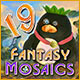 Buy PC games online, download : Fantasy Mosaics 19: Edge of the World