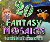 Fantasy Mosaics 20: Castle of Puzzles Game Featured Image