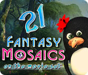 Fantasy Mosaics 21: On the Movie Set for Mac Game