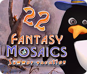 Fantasy Mosaics 22: Summer Vacation for Mac Game